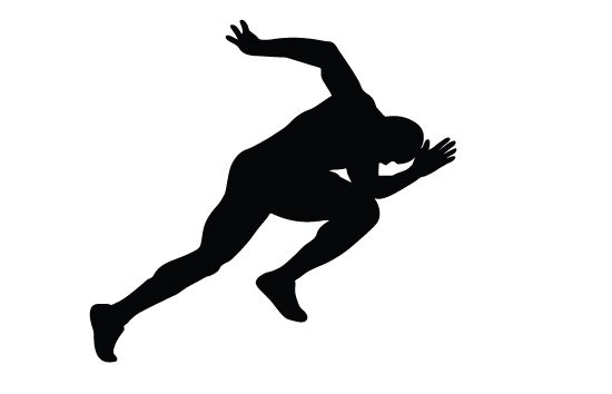Athletics Silhouette Vector