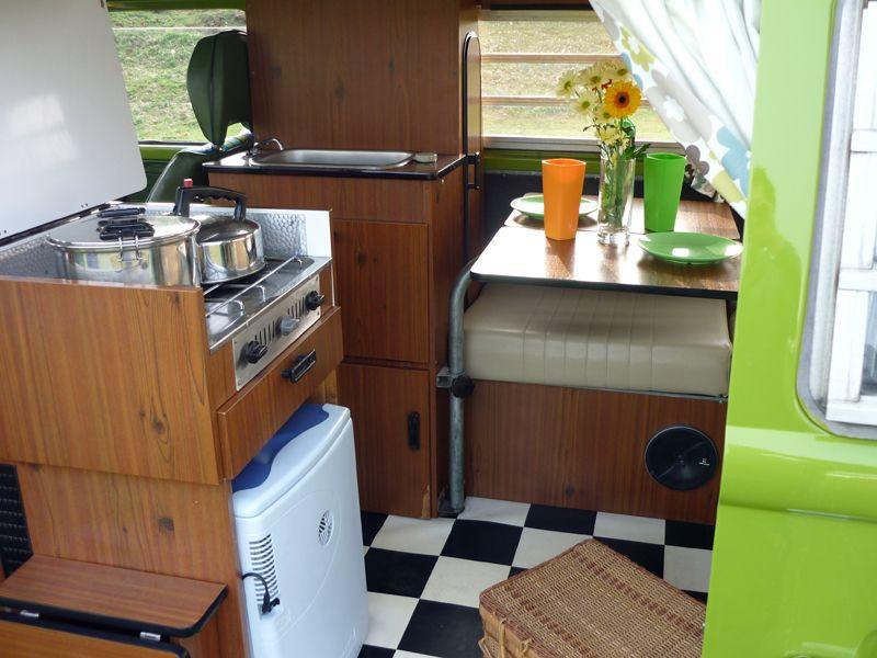 VW Baywindow Westfalia Continental Interior Vw camper