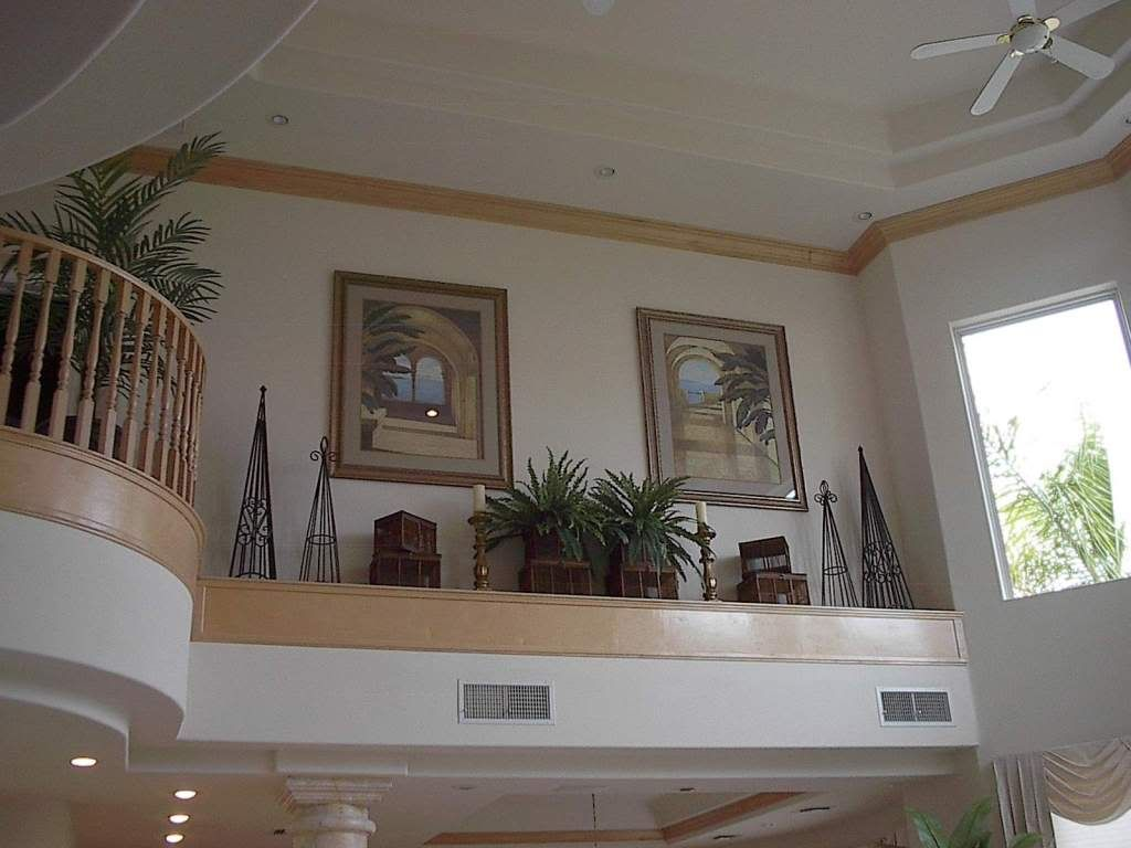 Decorating Foyers ledge above front door | here is a link that might be useful