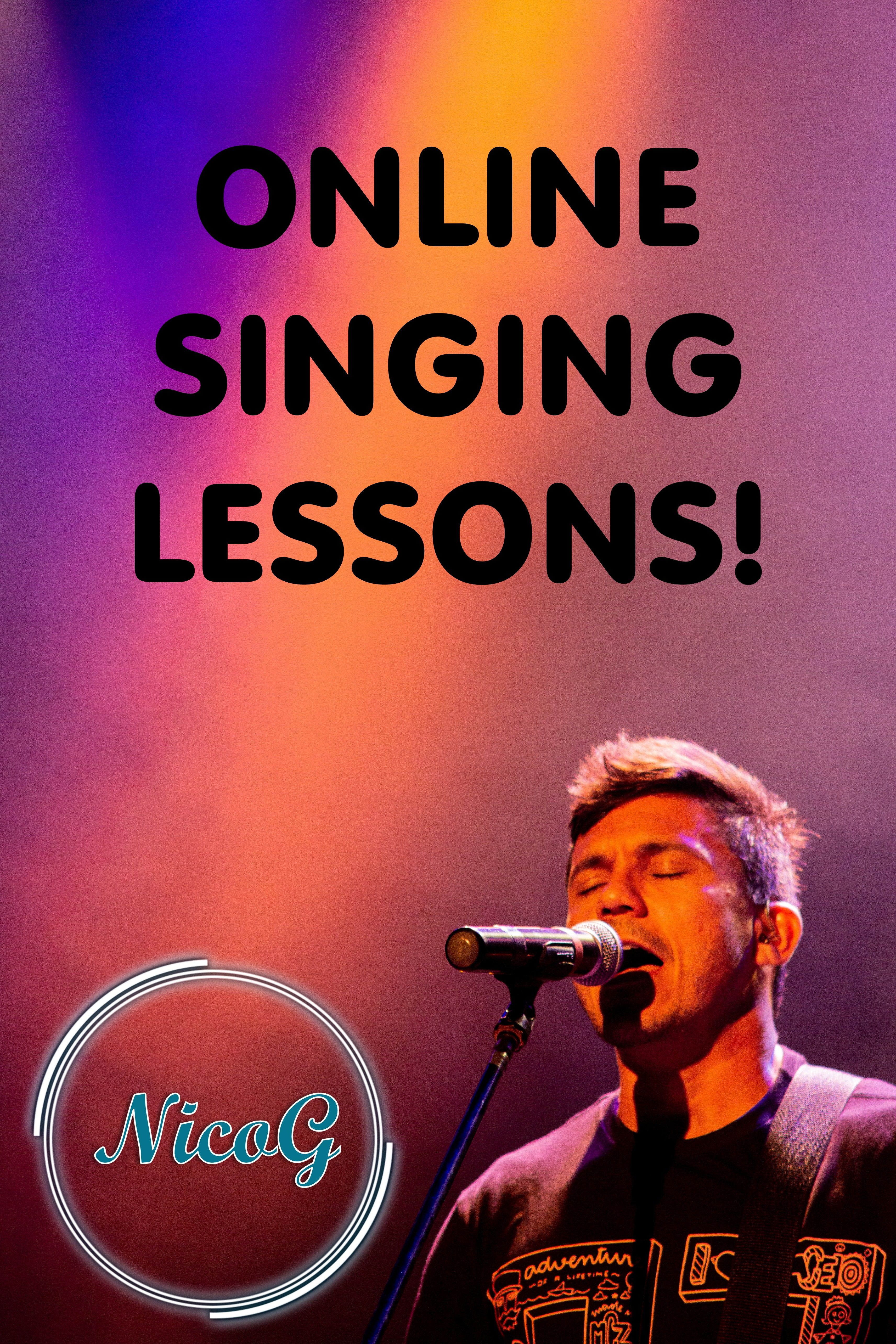 Online Vocal Lessons in 2020 Vocal lessons, Singing