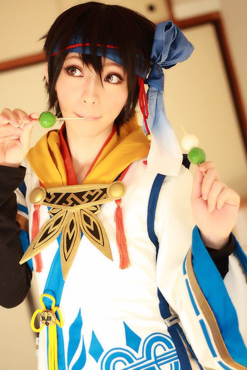 Akane(akane_hime_x) Hanbei Takenaka Cosplay Photo - WorldCosplay