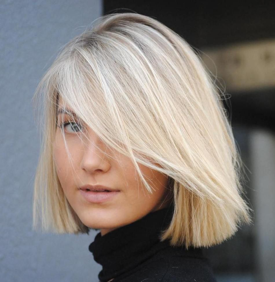 Straight bob womenshaircuts womens haircuts pinterest