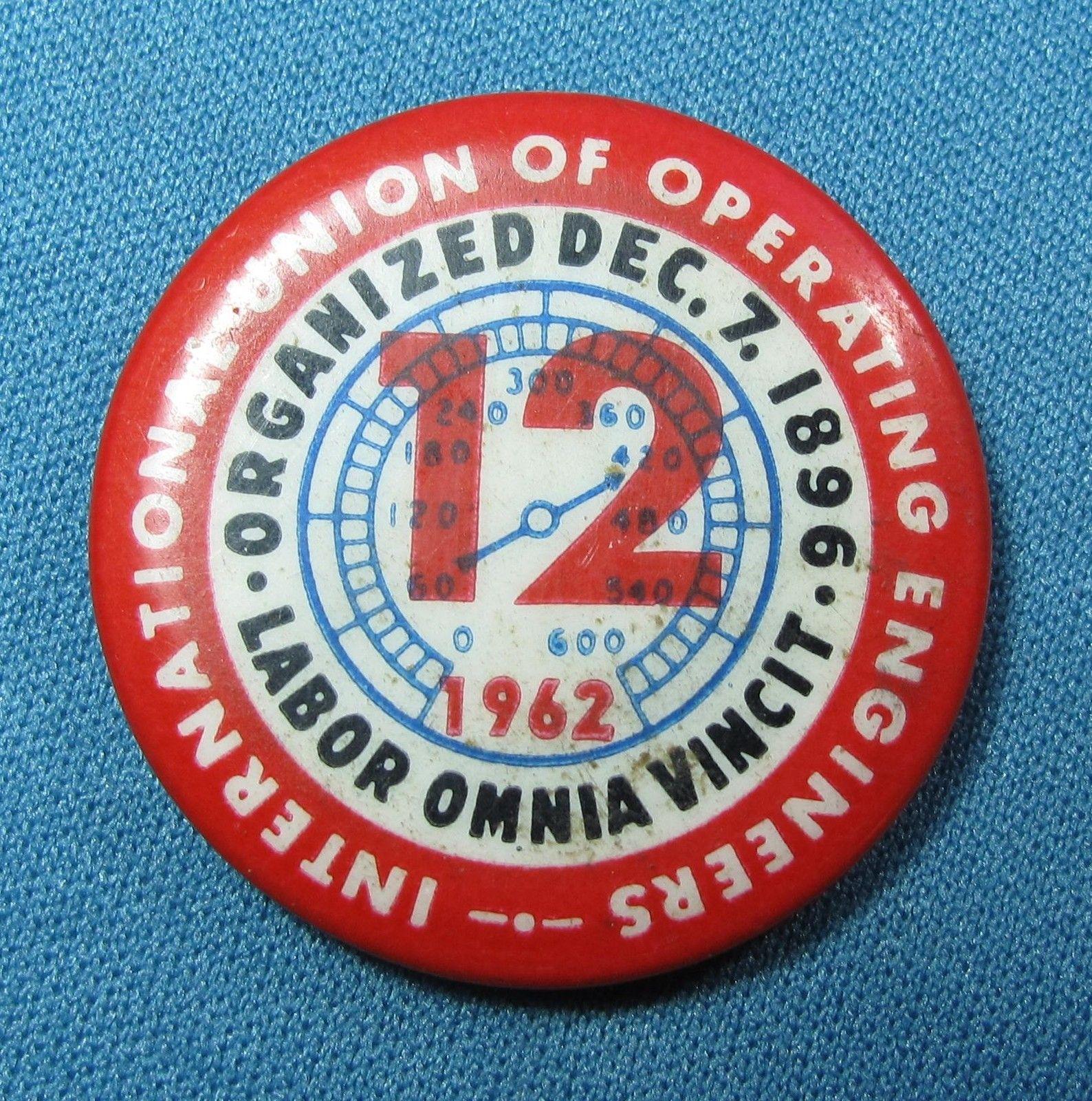 International Union Operating Engineers Union Logo Operating