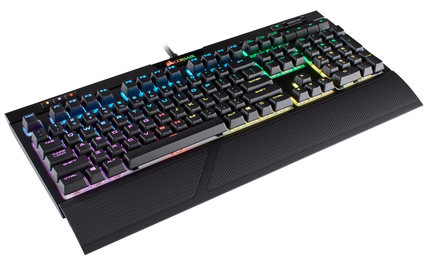 Corsair Strafe Rgb Mk 2 Mechanical Gaming Keyboard Usb Passthrough Linear And Quiet Cherry Mx Red Switch Keyboard Cool Things To Buy Best Gaming Headset
