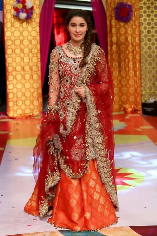 2018 New Pakistani Bridal Dress