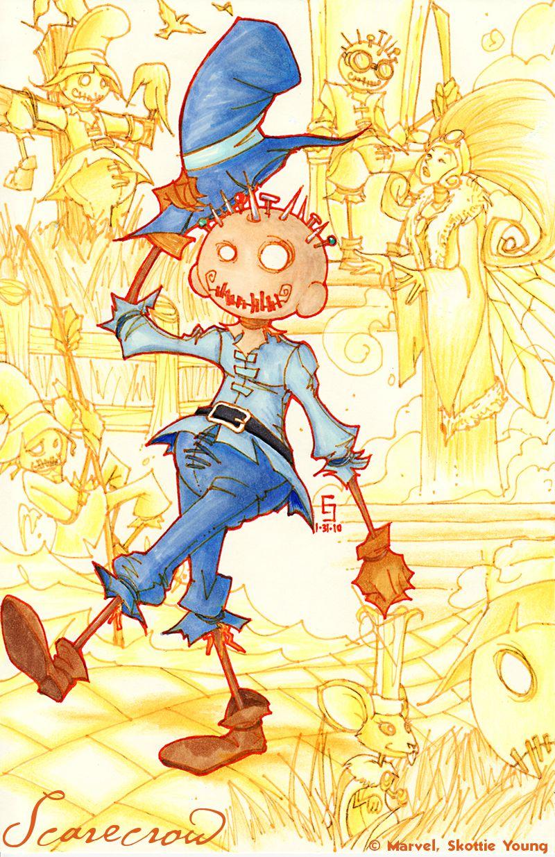 Scarecrow by Eric [©2010] | Land Of OZ | Pinterest | Scarecrows ...