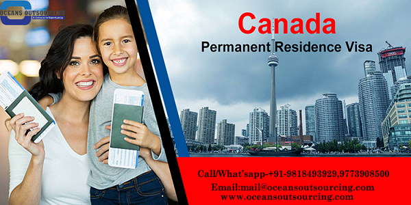 Get your Canada Permanent Resident Visa with your family less than 8