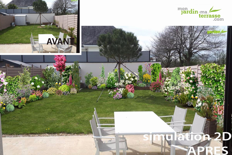 Idee Jardin Rectangulaire