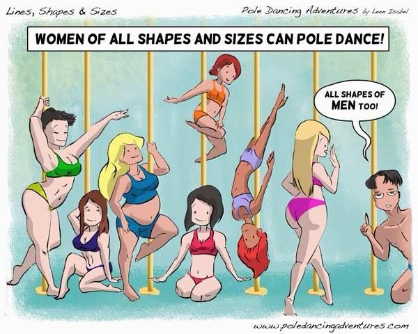 All girls in pole!