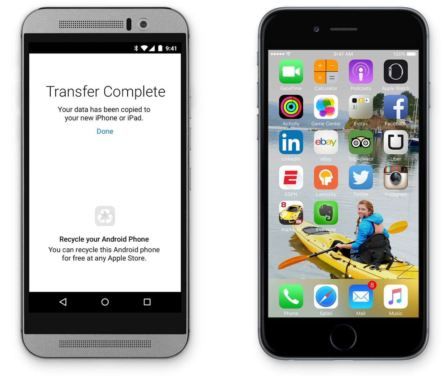 "Apple revela nueva aplicación ""Move to iOS"" para usuarios"