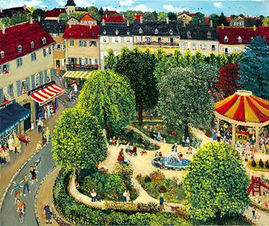 The Public Garden by Genevieve Terver-Noel