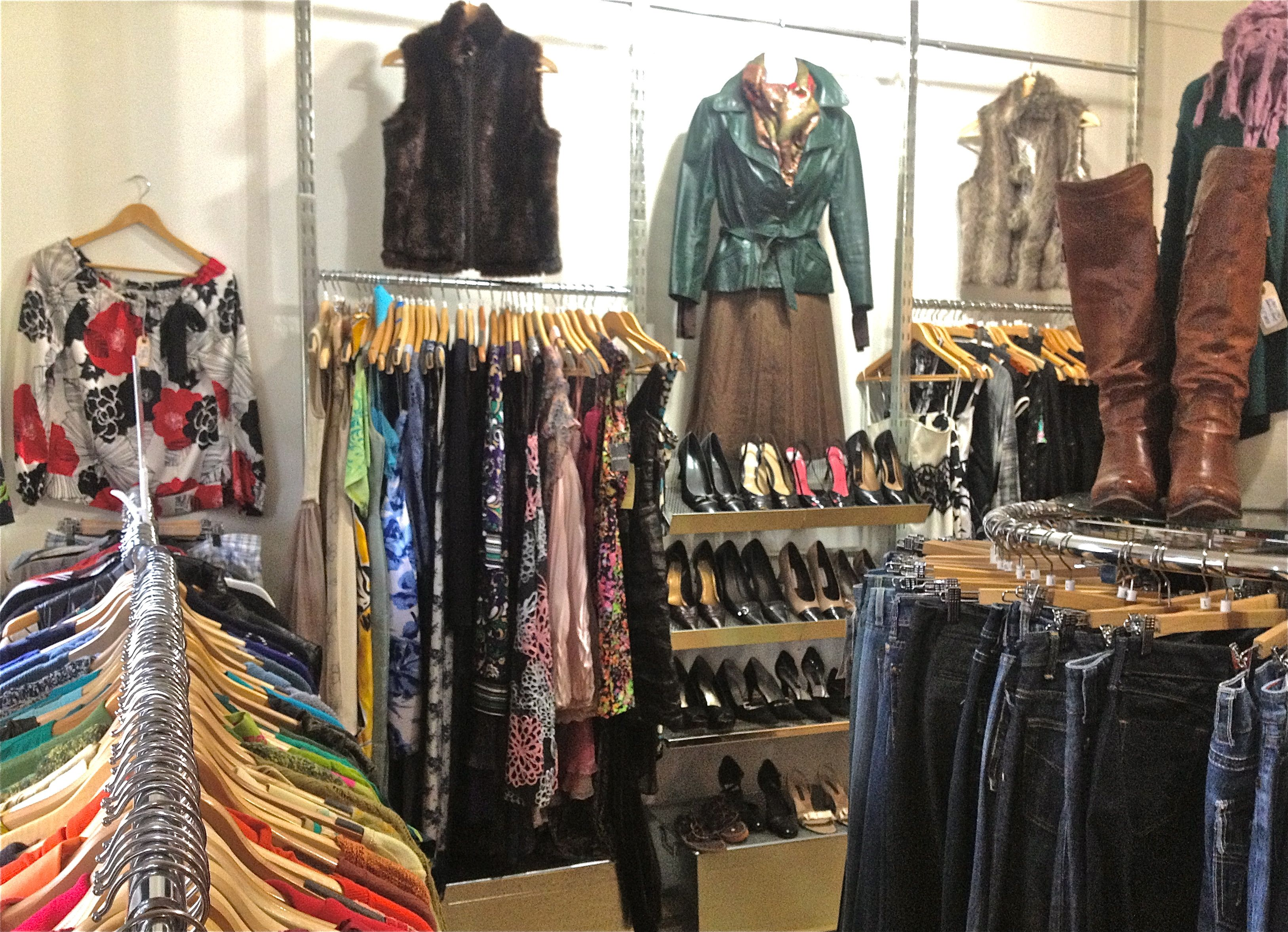 A Two Story High End Consignment Store In The Heart Of Downtown