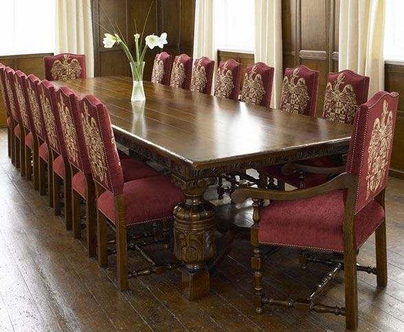 12 Seat Dining Room Table Sets Hamptondiningtable16Seat 588×483  Dream Dining Table