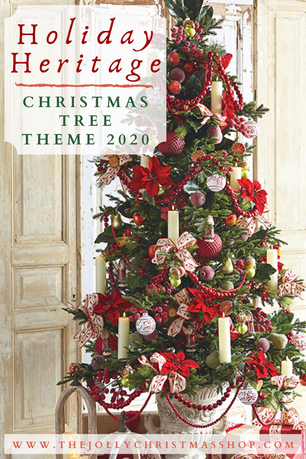 Christmas Theme For 2020 NEW for 2020! Our Holiday Heritage Christmas Tree Theme
