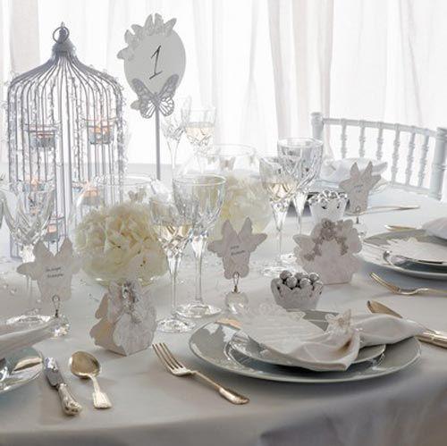 Mackburry Silver Sparkling Butterfly-theme Wedding