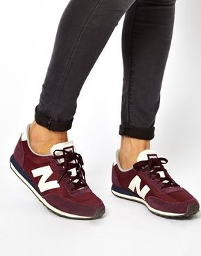 new balance 420 burgundy trainers