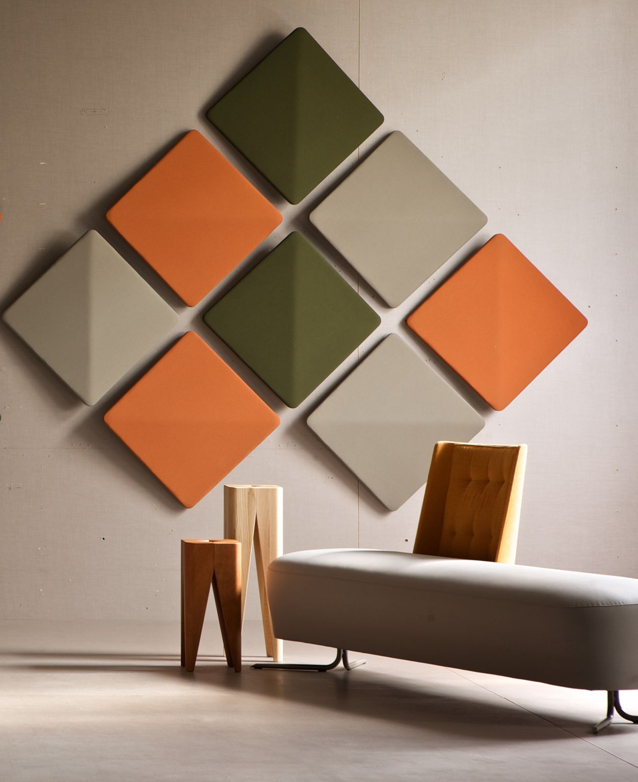 Mineral Fibre Decorative Acoustical Panels Kite Wall By Estel