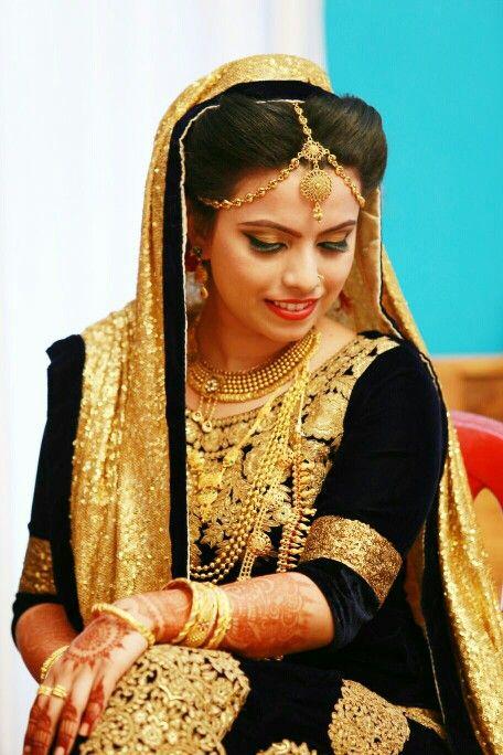 Simple Kerala Muslim Wedding Dress