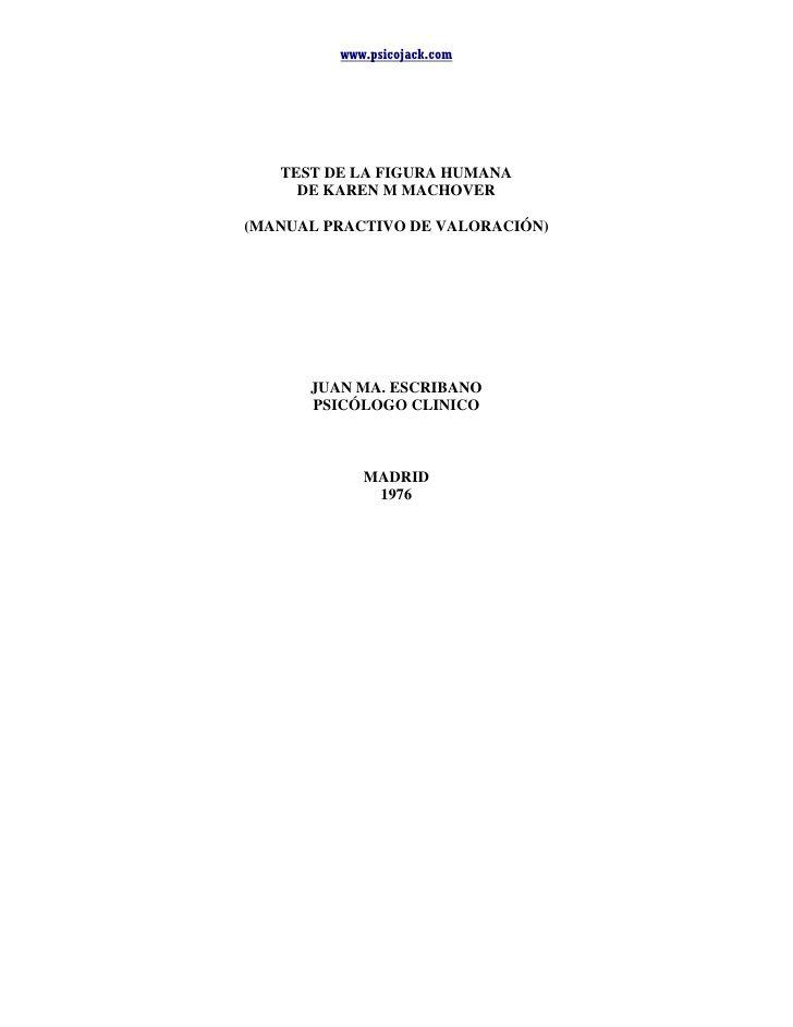 machover manual