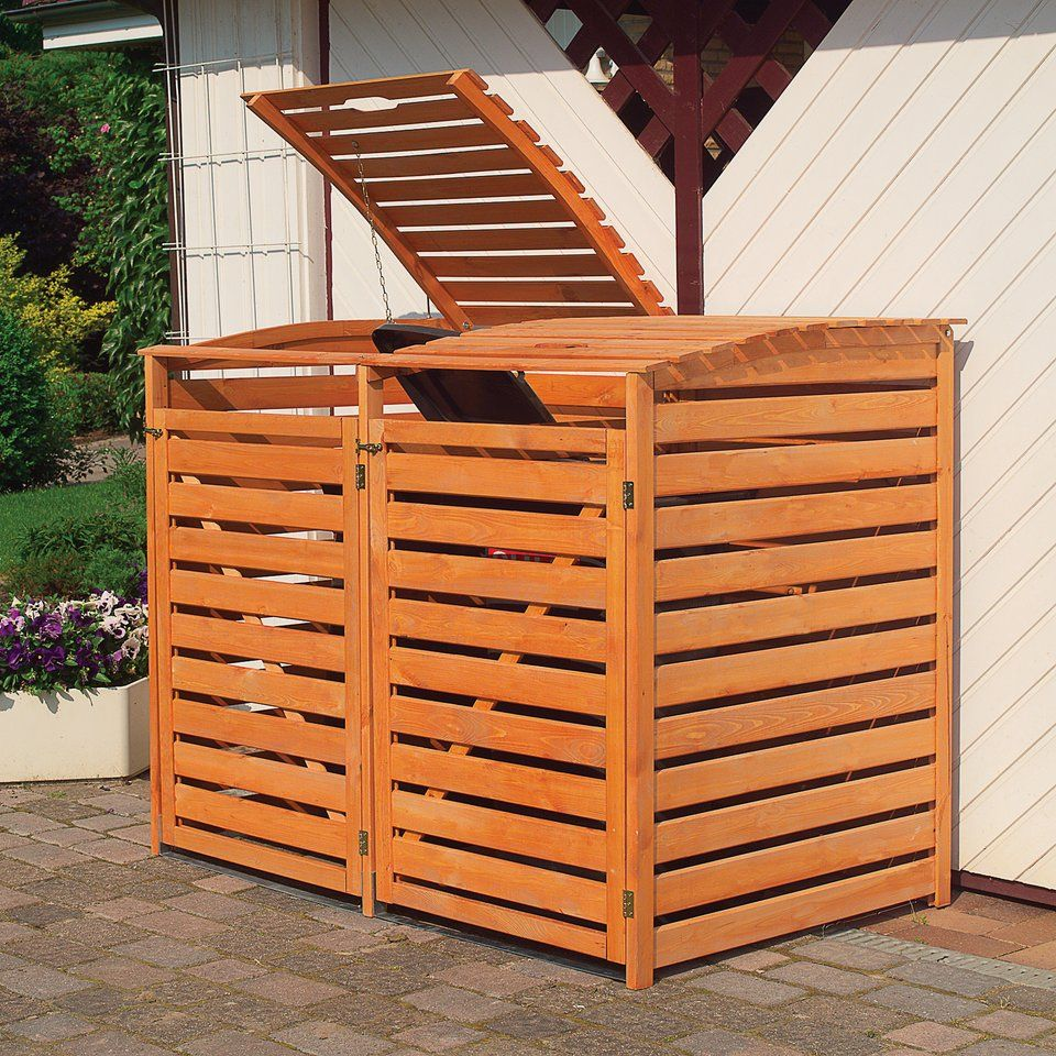 Hauptbild Mulltonnenbox Mulltonnenverkleidung Mulltonnenbox Holz