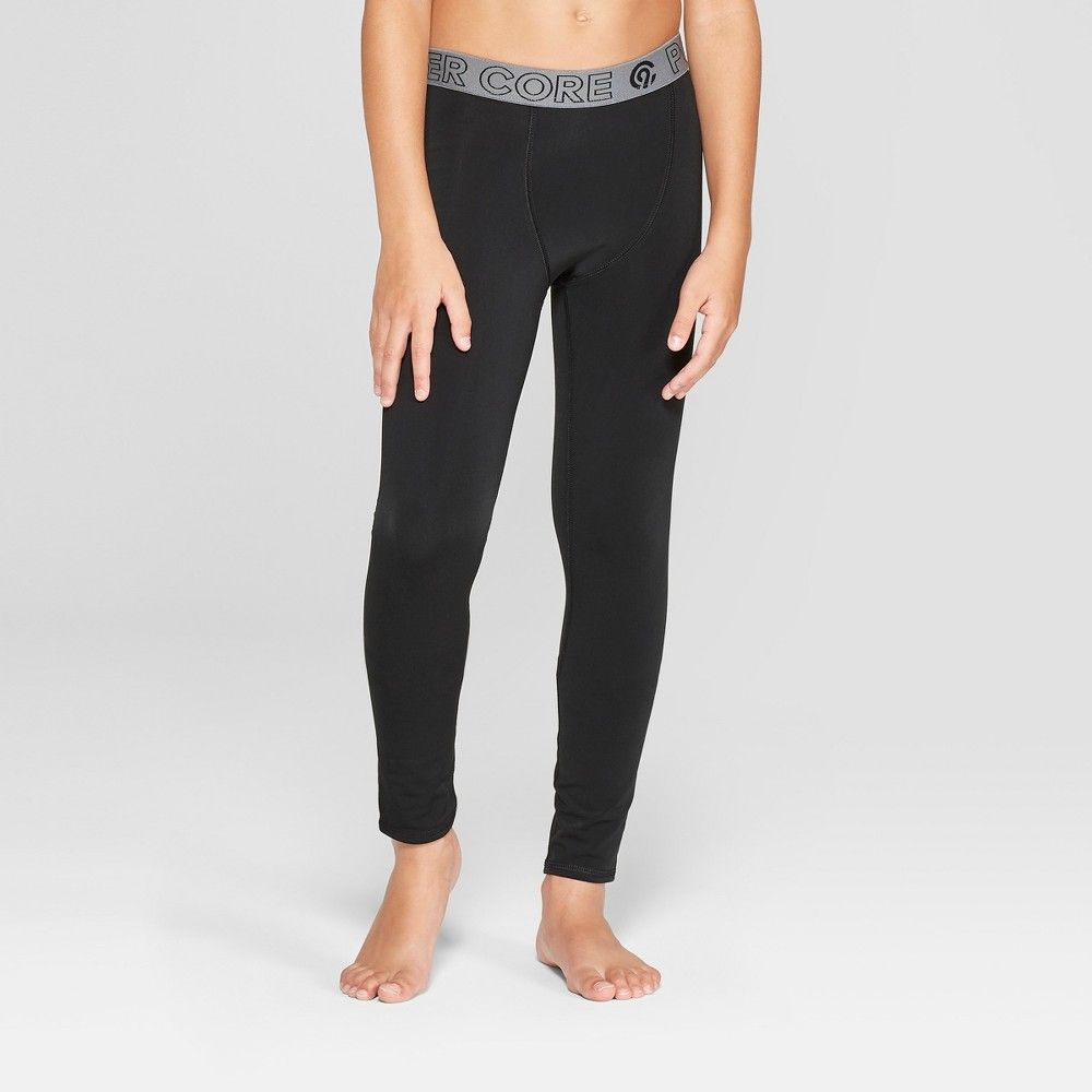 9faeb9b2e5 The Boys' Power Core Warm Compression Tight from C9 Champion features  brushed fabric that retains heat while it wicks to keep you active in cold  weather.