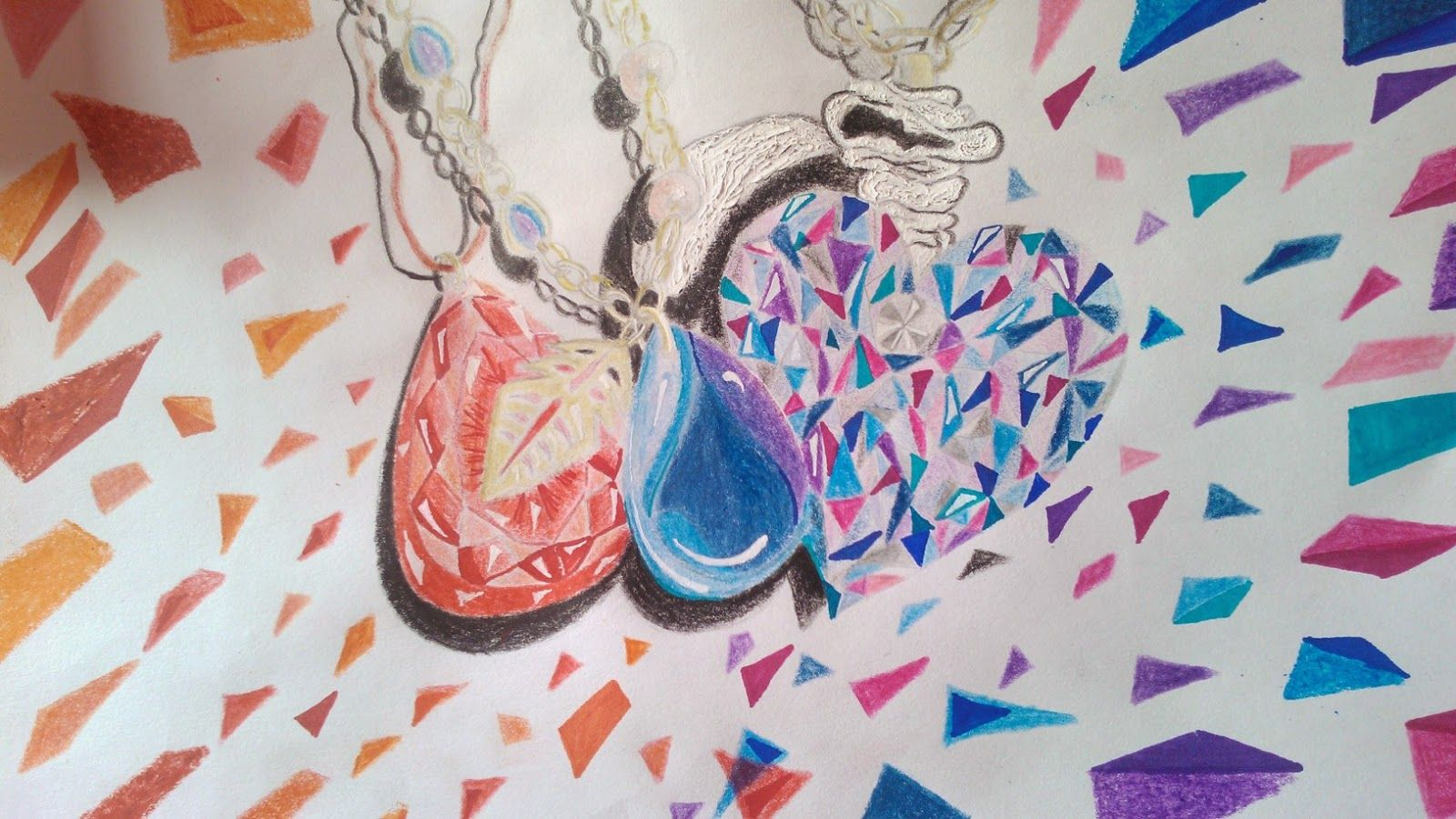 Dibujando joyería fina ... http://youtu.be/SNp-Fl7SsQo