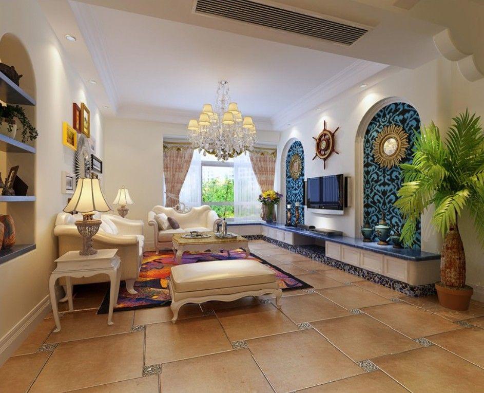 breathtaking mediterranean style living room | mediterranean villa decorating ideas - Google Search ...