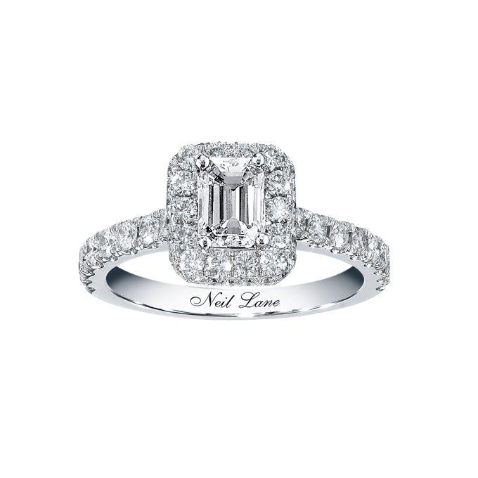 emerald cut engagement rings - Wedding Rings Kay Jewelers