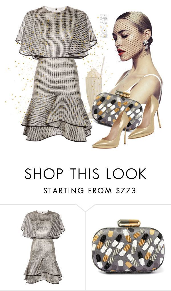 """""""Untitled #3327"""" by julinka111 ❤ liked on Polyvore featuring Jason Wu, Sarah's Bag and Casadei"""