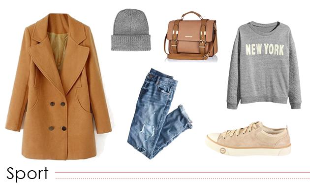 ideas cómo llevar abrigo camel