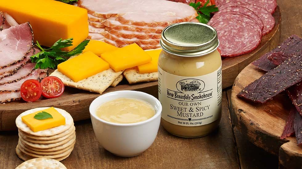 Sweet & Spicy Mustard New Braunfels Smokehouse (With