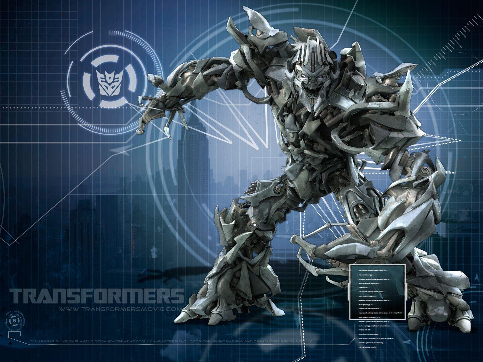 Megatron: es el líder de los Decepticons