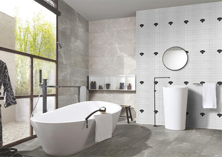 Badezimmerfliesen Die Trends Setzen Und Umgebungen Schaffen Haus Dekoration Badezimmerfliesen Badezimmer Innenausstattung Wandkachel