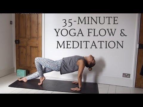 GENTLE YOGA FLOW & MEDITATION All Levels Yoga CAT