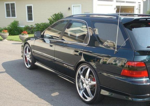 1997 accord wagon big wheel 22 honda accord wagon honda accord ex counting cars 1997 accord wagon big wheel 22 honda