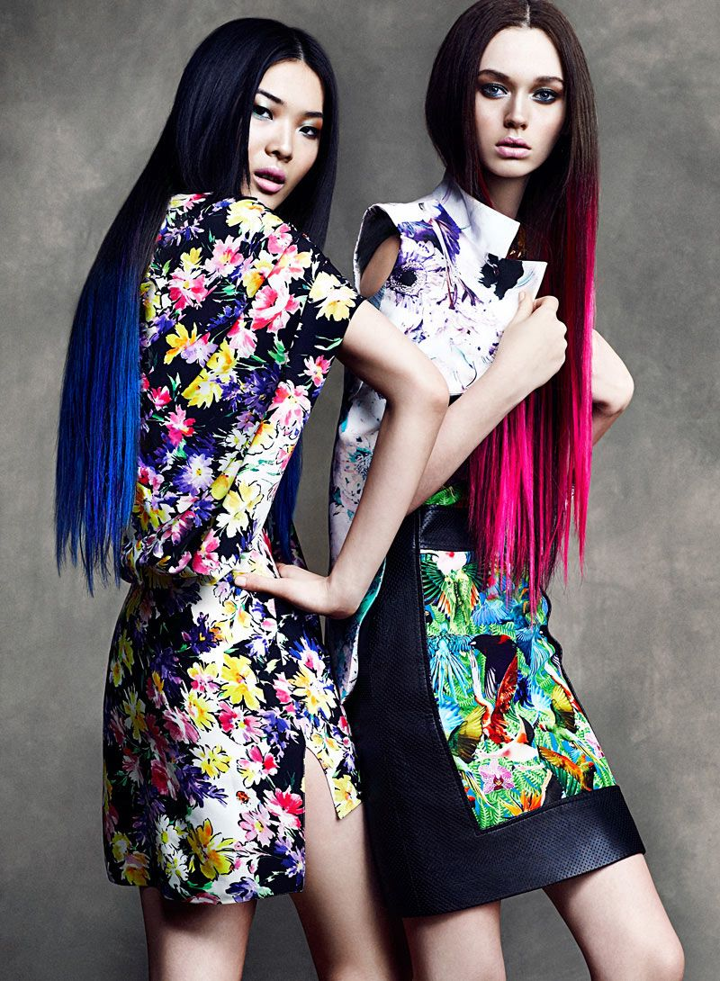 COLOR. Wei & DJ by Chris Nicholls for Flare April 2012