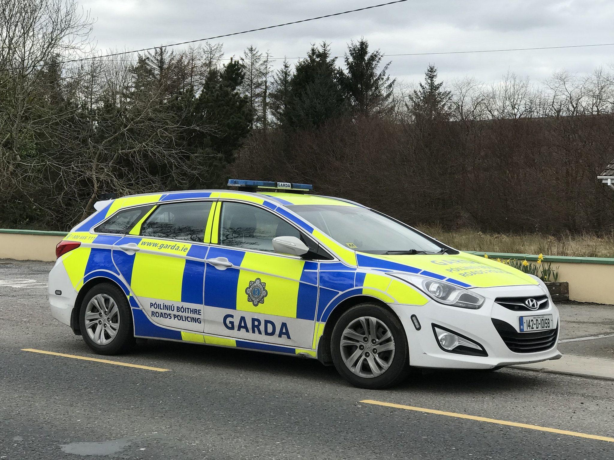 Irish Police Car - An Garda Siochana - Hyundai Wagon ...