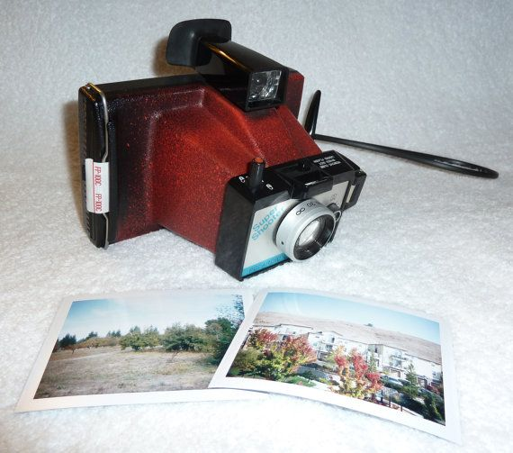 #Vintage #Polaroid Camera 'RED' Super Shoot Ready For Your Instant by UpcycledClassics, $93.00