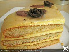 Bayrische vanillecreme torte