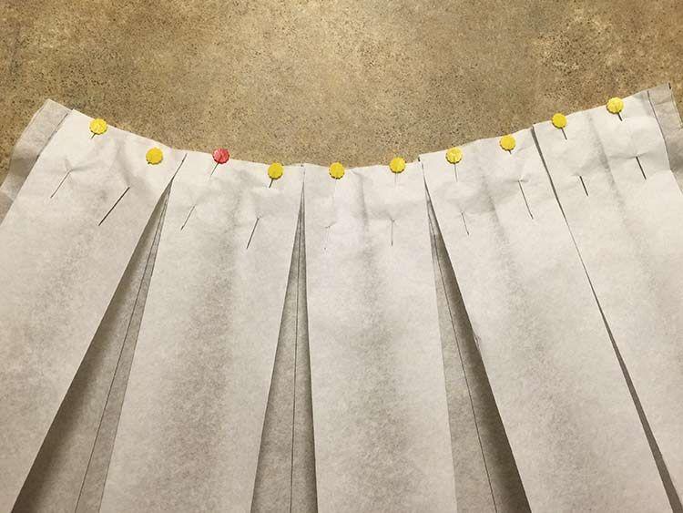 official photos 164a9 58961 Tutoriales DIY: Cómo hacer una falda midi con pliegues vía ...