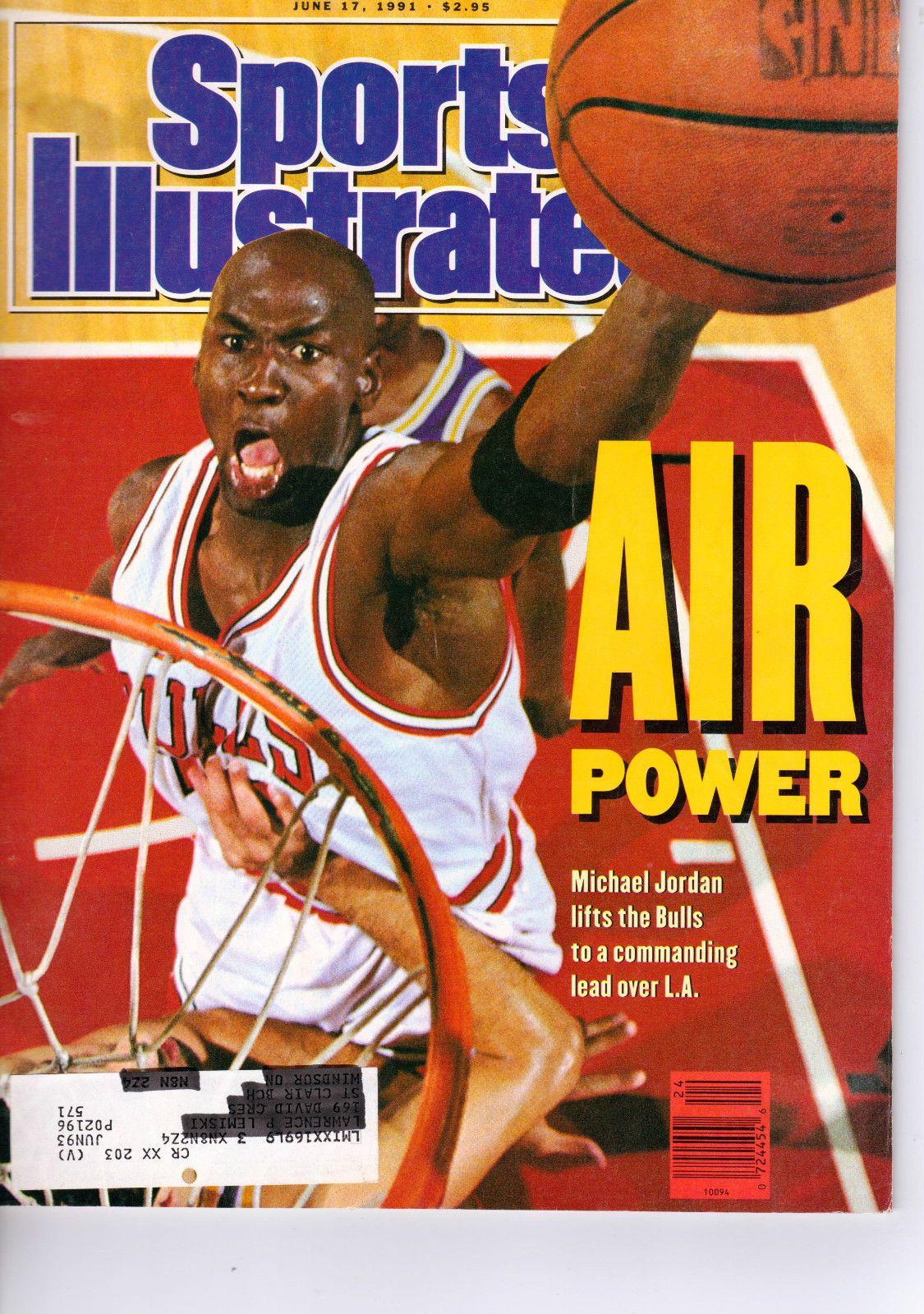 Vintage Sports Illustrated June 1991 Michael Jordan