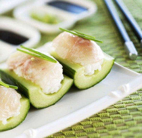 Cucumber sushi/Kurkkusushit