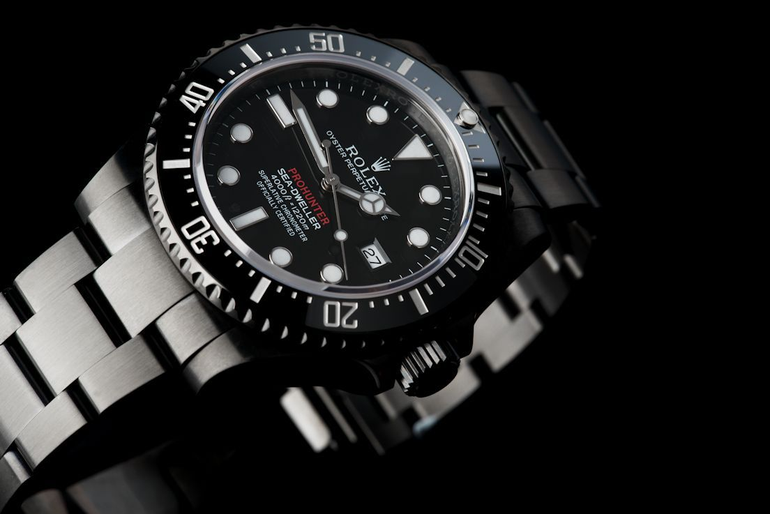 Rolex Sea Dweller Nero