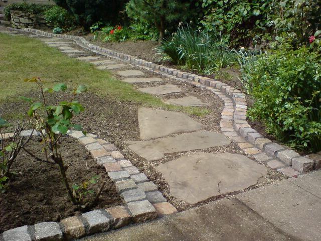 Rasenkante Doppelt Aus Granit Garten Garten Pflanzen Garten Landschaftsbau