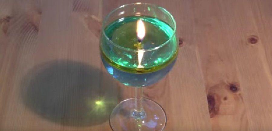 C mo hacer velas de agua y aceite en unos minutos - Como hacer velas ...