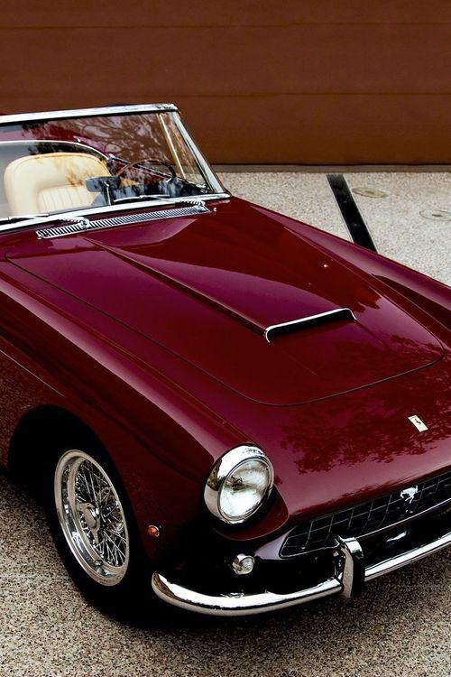Superbe Ferrari 250 GT Pininfarina Cabriolet Marsala Color Of The Year 2015