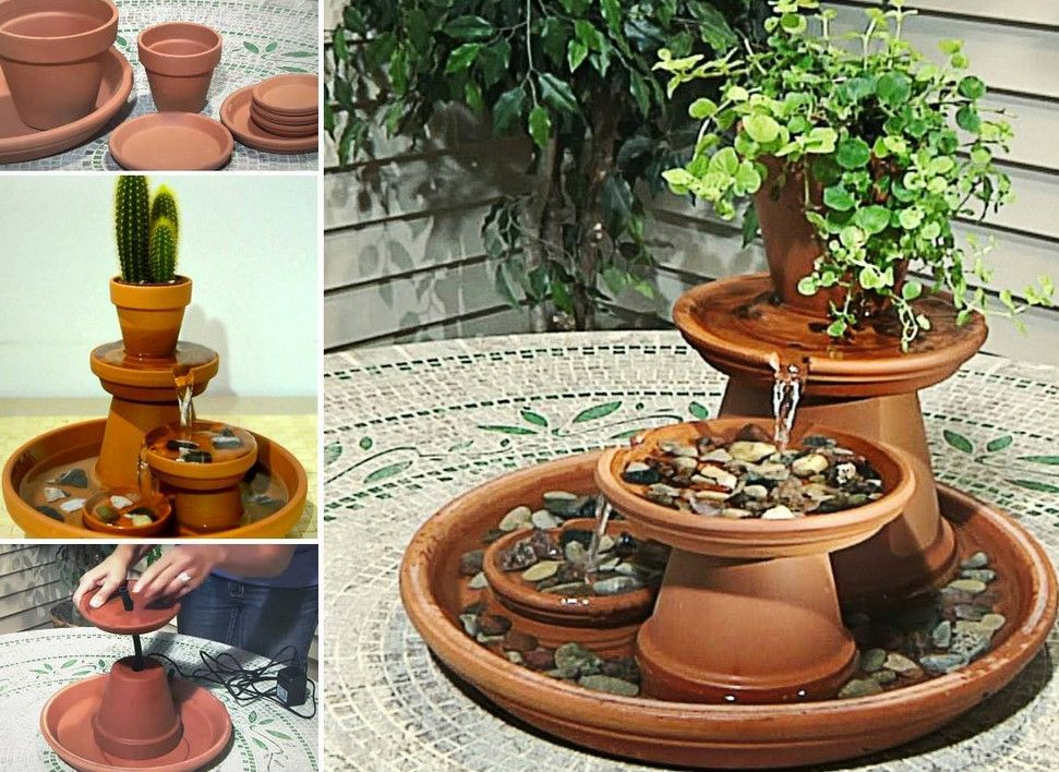 How To Build An Indoor Water Feature How To Buy The Best Quality Indoor Water Features Cool Home Desig Diy Water Fountain Diy Fountain Diy Garden Fountains