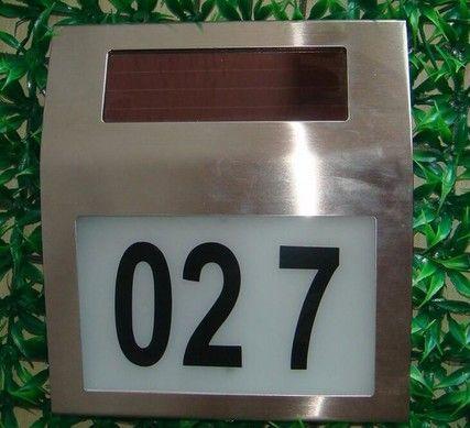 solar huisnummer verlichting type axel inclusief cijfers solarlampkoning
