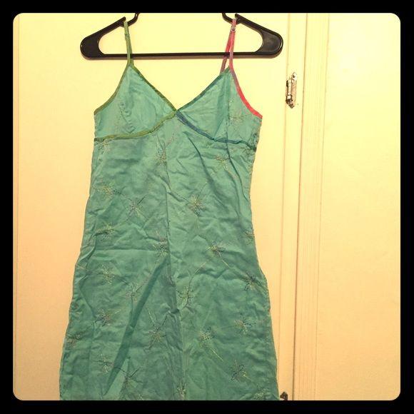 Gap summer dress  Gap summer dress size 1 possibly equivalent to size XS. Very well taken care of.  Beautiful design. GAP Dresses Mini