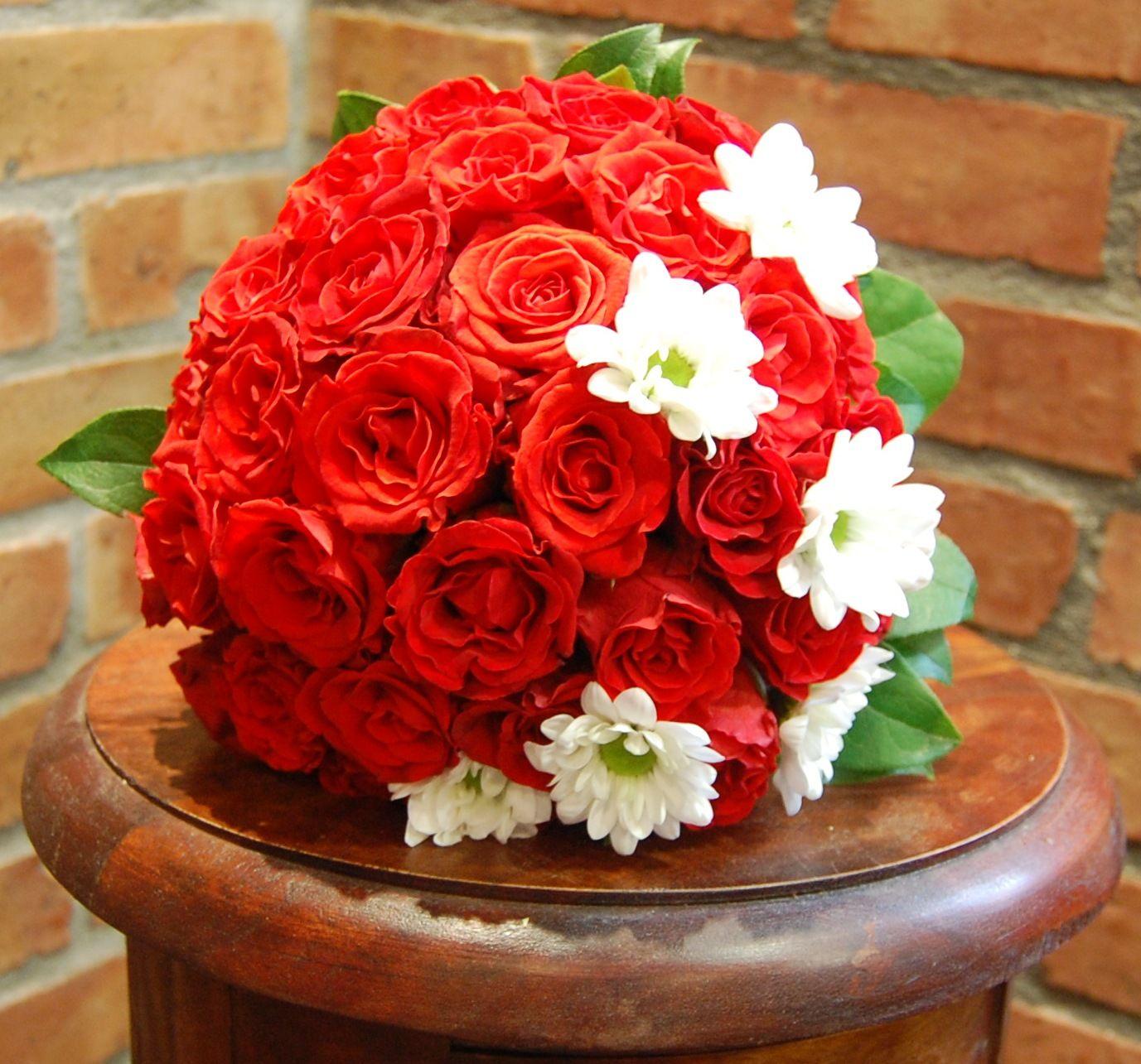 Bukiet Slubny Pod Kolor Krawata Pana Mlodego Wedding Rose Plants